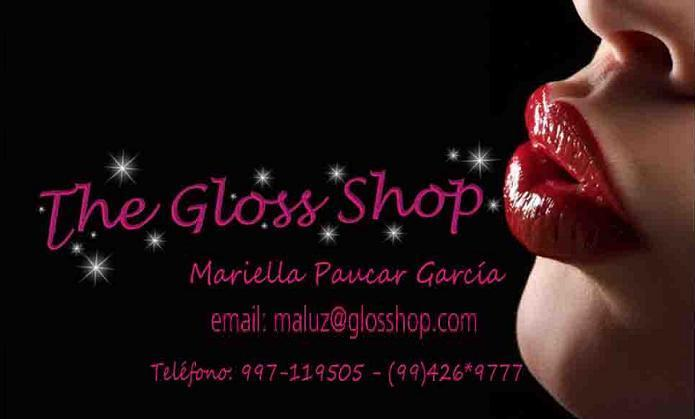logo the gloss shop